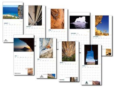 画像1: 2014 WORLD CLIMBING CALENDAR / Onsight Photography